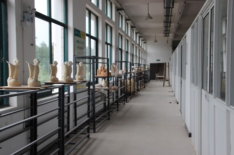 New campus of Jingdezhen Ceramic Institute - studios