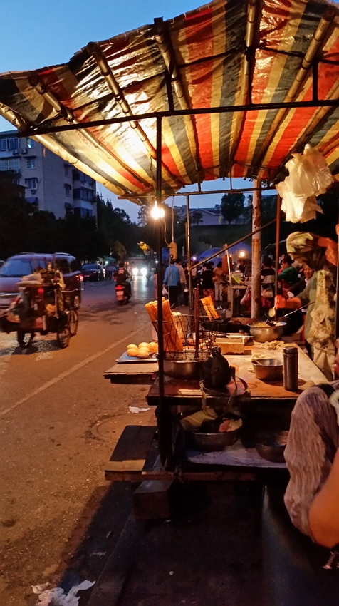 Food street in JIngdezhen - Deanna Roberts