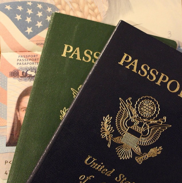 Visa application and Passport - Deanna Roberts