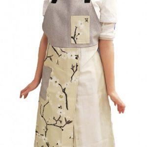 Pottery Split-leg apron - Chinese blossom 2