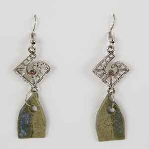 Church Window earrings - Deanna Roberts Studio