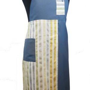 Pottery Split-leg apron - Seaside Stripes (2)