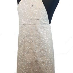 Pottery Split-leg apron - Winter Blossom (2)
