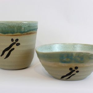 Blossom vase and bowl