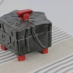 Pentagonal trinket box