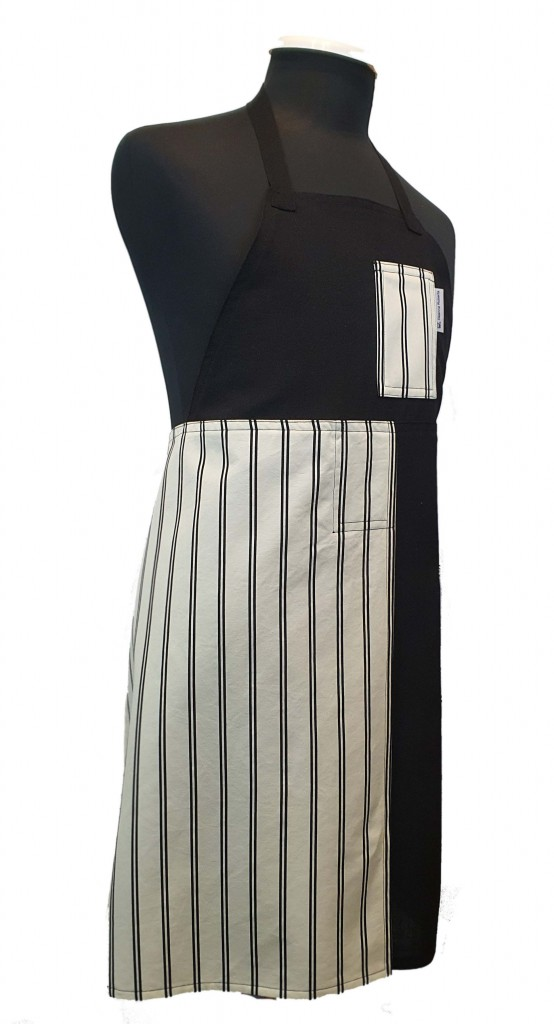Black Tie Dinner style split-leg pottery apron
