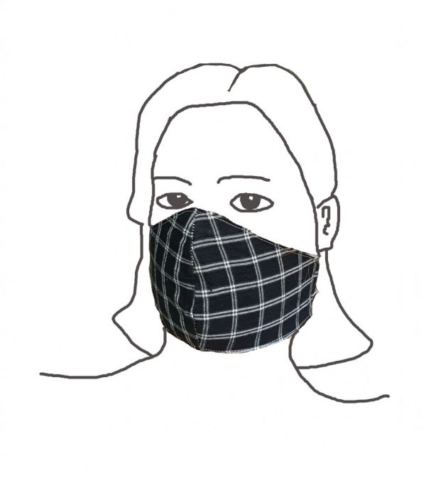Face mask construction process FACE