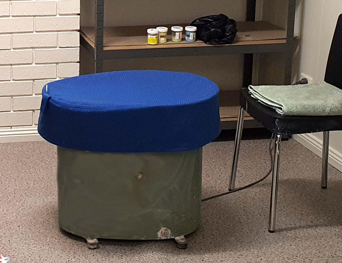 Venco Pottery Wheel Cover - Blue
