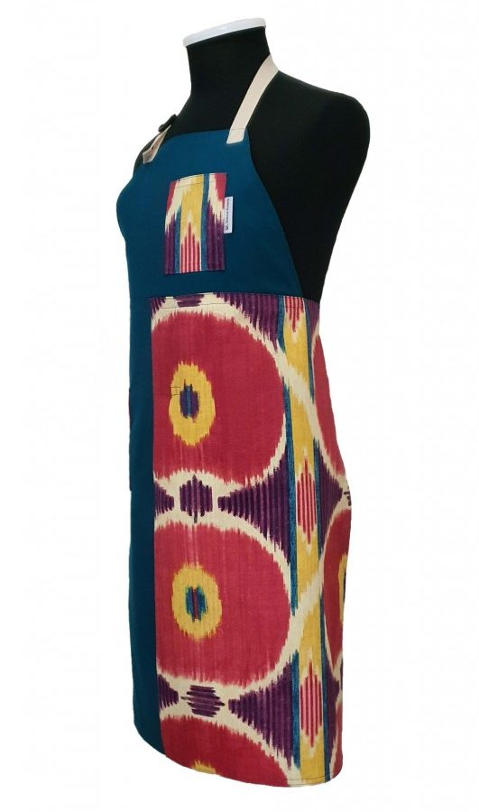 Split-leg pottery apron - Bloom
