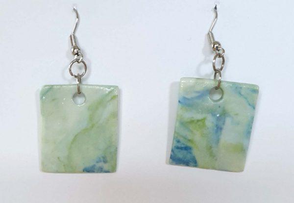 2.5 x 2.3 By the Sea earrings