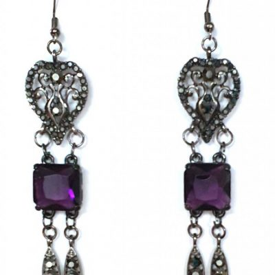 6.5 x 1.7 Glamour earrings