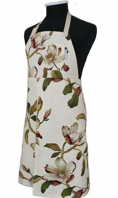 Split-leg apron - Autumn Leaves