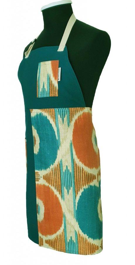 Pottery split-leg apron - Carnival