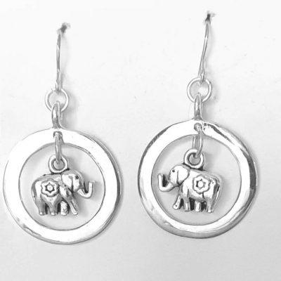 Elephant Rings Earrings