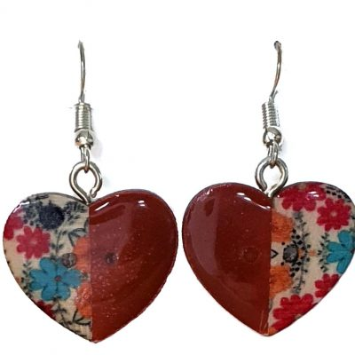 Hearts Divided Earrings