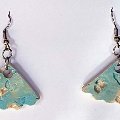 Blue Lace Earrings