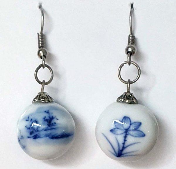 China Blue Earrings