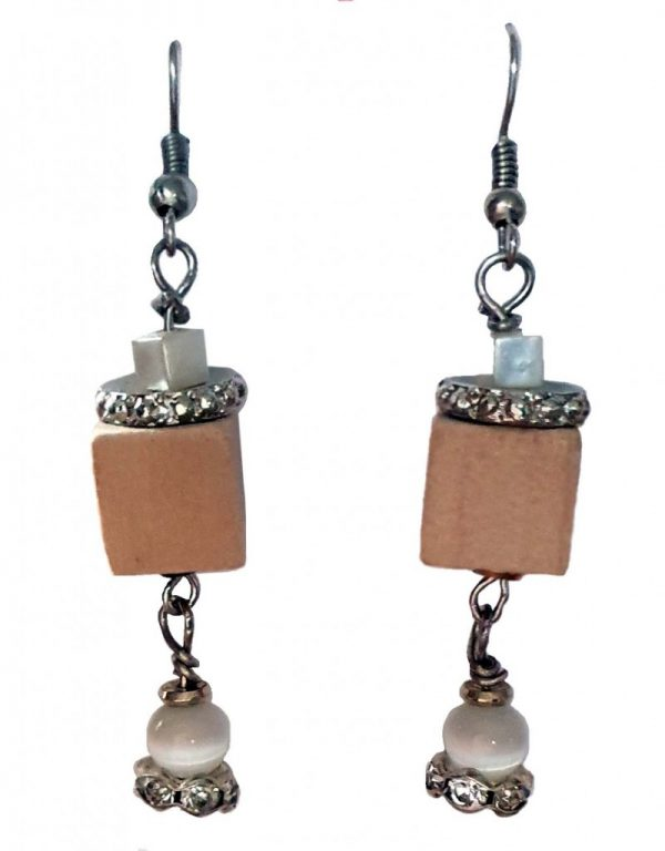 Wood Drops Earrings