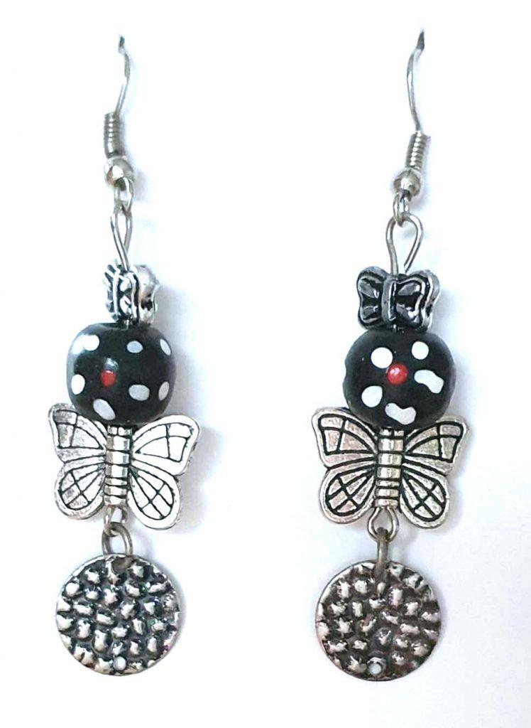 4 x 1.5 Butterflies and Beads