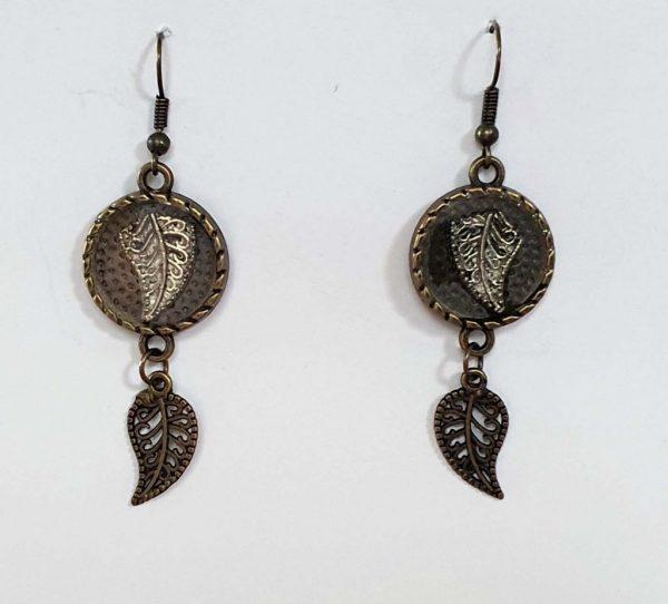 Brass in Pocket Earrings