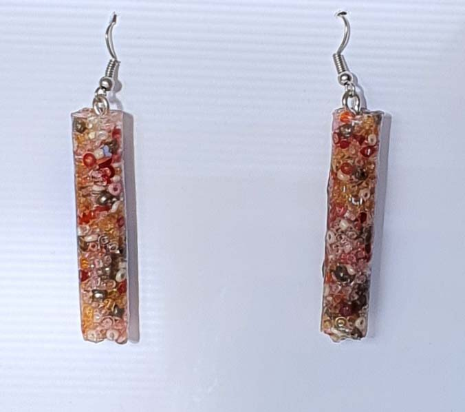 Seed Beed Salad Earrings