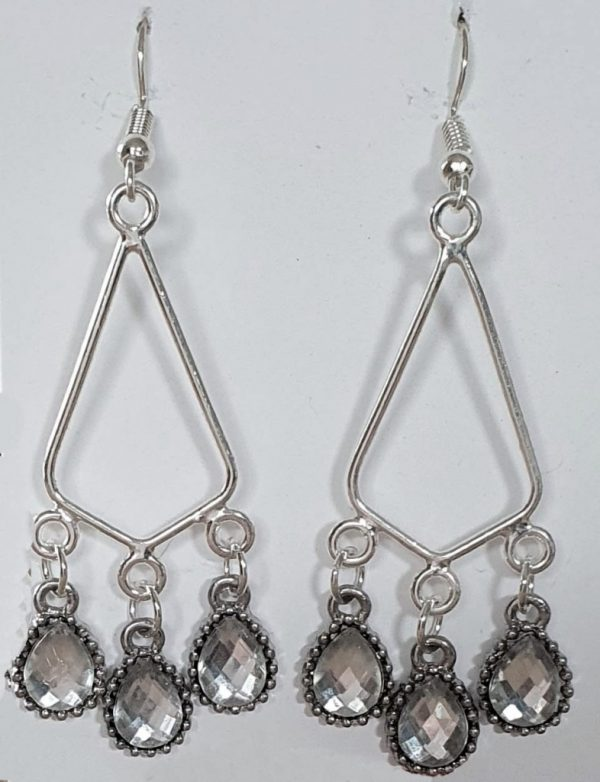 Triple Droplet Earrings