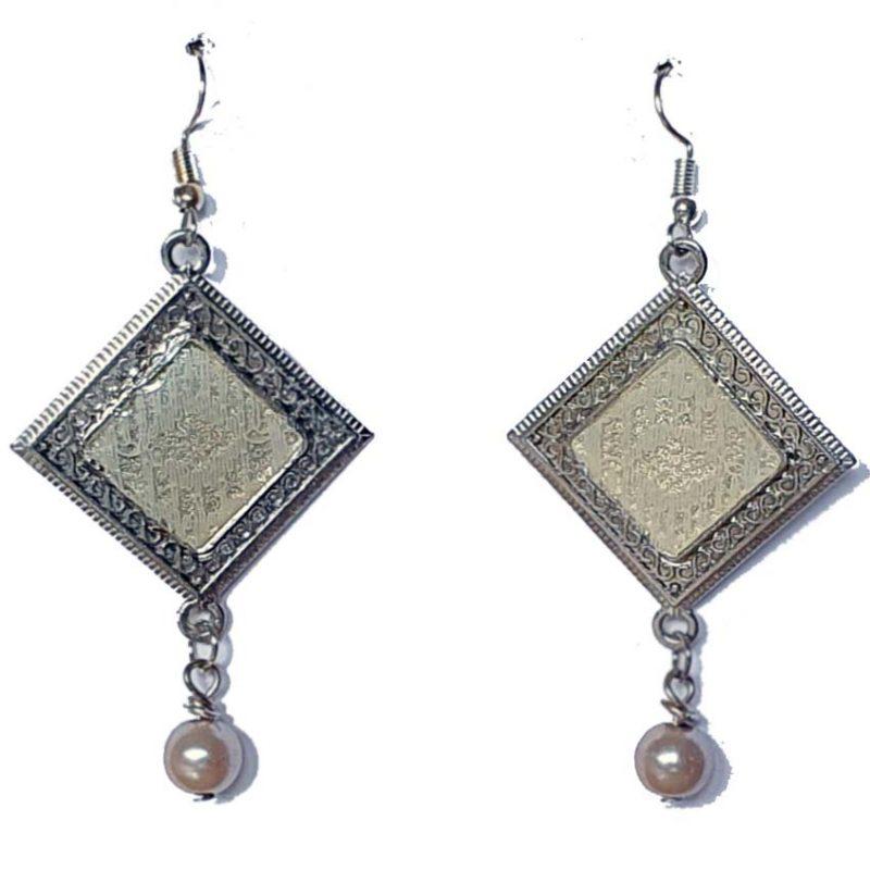 Silver Lady Earrings