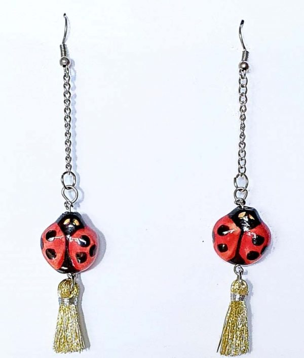 Ladybirds Tails Earrings