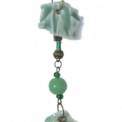 Bag charm - Celadon Green