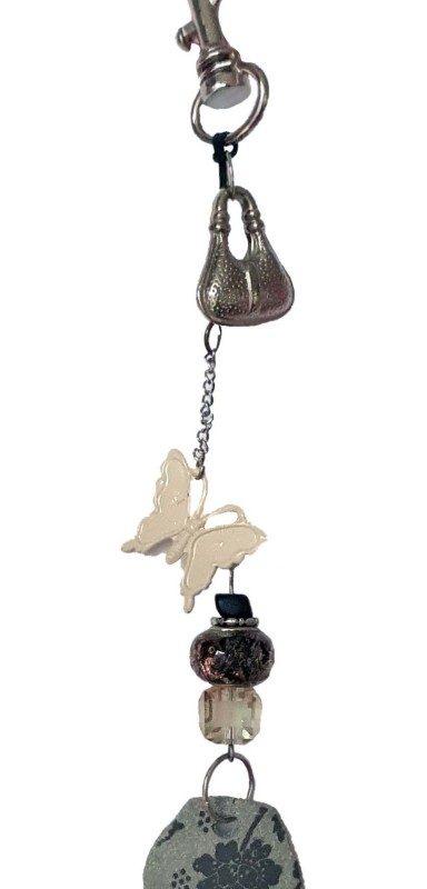 Bag charm - Bags & Butterflies 18 cm