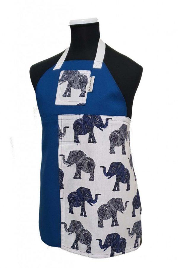 Child's Elephant Walk Split-Leg Pottery apron