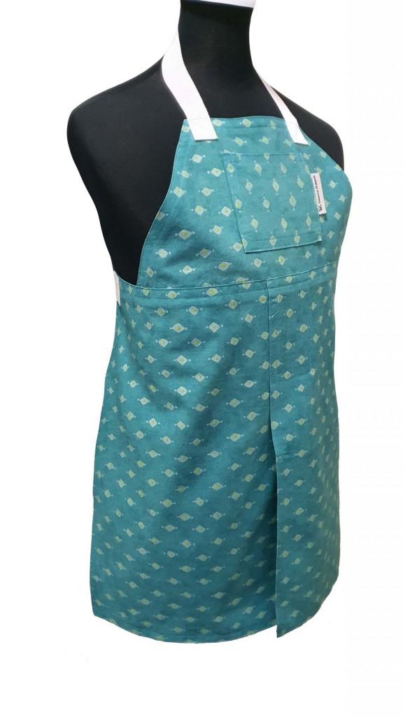 Child's Emerald Night Split-Leg Pottery apron