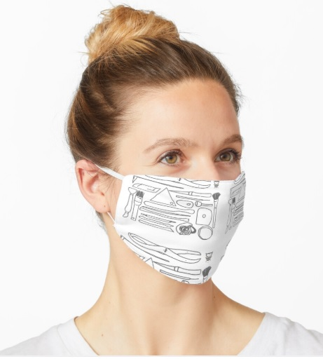 Potter's Face Mask lady