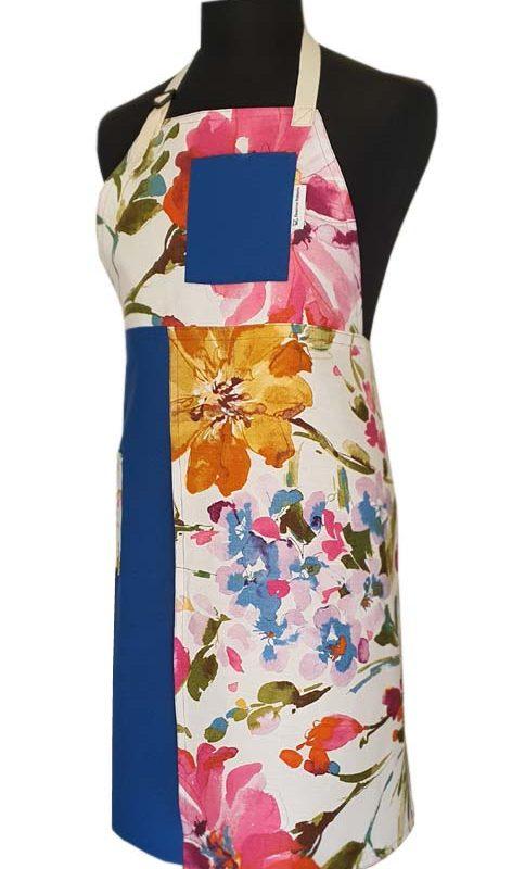 Sky Garden Split-leg apron 80 x 92 - Deanna Roberts Studio