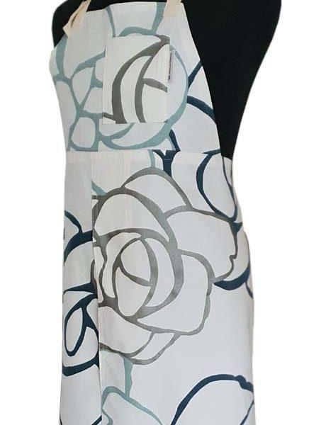 Split-leg apron - Coral - Deanna Roberts Studio 77 x 91 (2)
