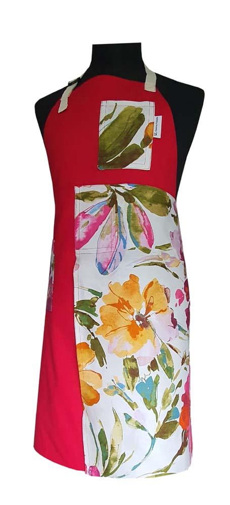 Split-leg apron - Cherry Blossom - Deanna Roberts Studio (1)