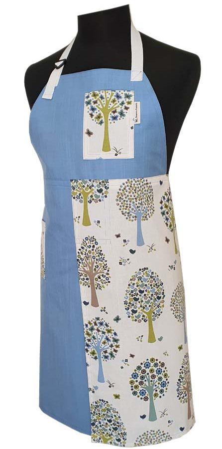 Split-leg Apron - Orchard Lake (78 x 90) - Deanna Roberts Studio