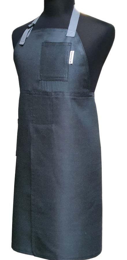 Split-leg apron - Brushed Charcoal - Deanna Roberts Studio 78 x 92
