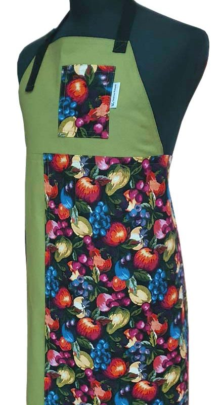 Split-leg apron - Feast (85 x 74) - Deanna Roberts Studio