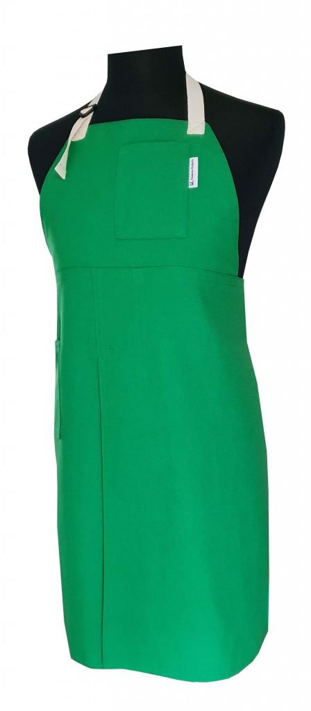Split-leg apron - Happy Green 76 x 89 - Deanna Roberts Studio (3)