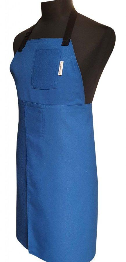 Split-leg apron - Sapphire - 77 x 90 - Deanna Roberts Studio