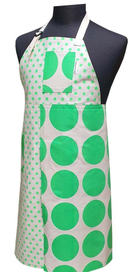 Split-leg apron - Spot On (78 x 90) - Deanna Roberts Studio