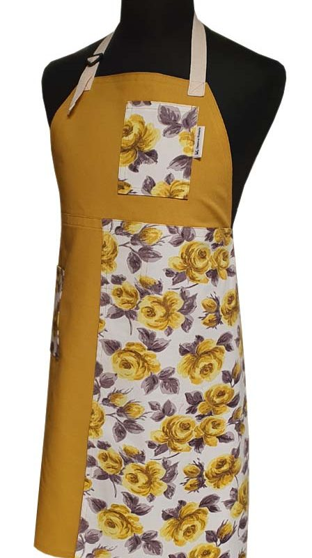 Split-leg apron - Bloom (77 x 89) - Deanna Roberts Studio
