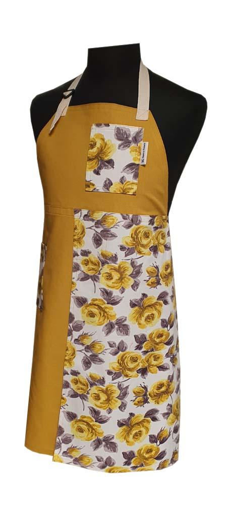 Split-leg apron - Bloom (77 x 89) - Deanna Roberts Studio