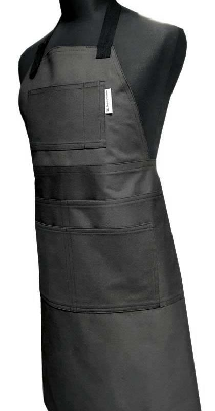 Tradie's apron - Charcoal - Deanna Roberts Studio