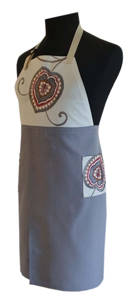 Autumn Skies Split-leg apron - Deanna Roberts Studio (76 x 88)
