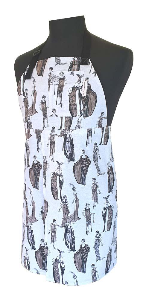 Fashion Statement Spilt-leg apron Deanna Roberts Studio (81 x 77)