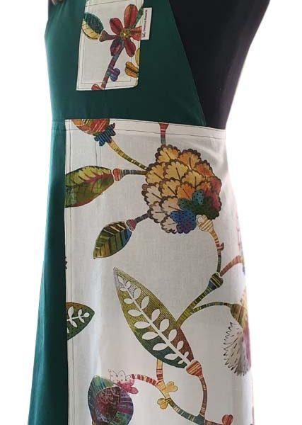 Happy Harvest Split-leg apron 82 x 91 - Deanna Roberts Studio