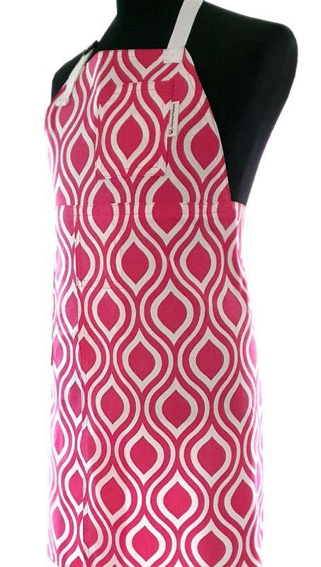 Pink Wink Split-leg Apron - 76 x 84 - Deanna Roberts Studio