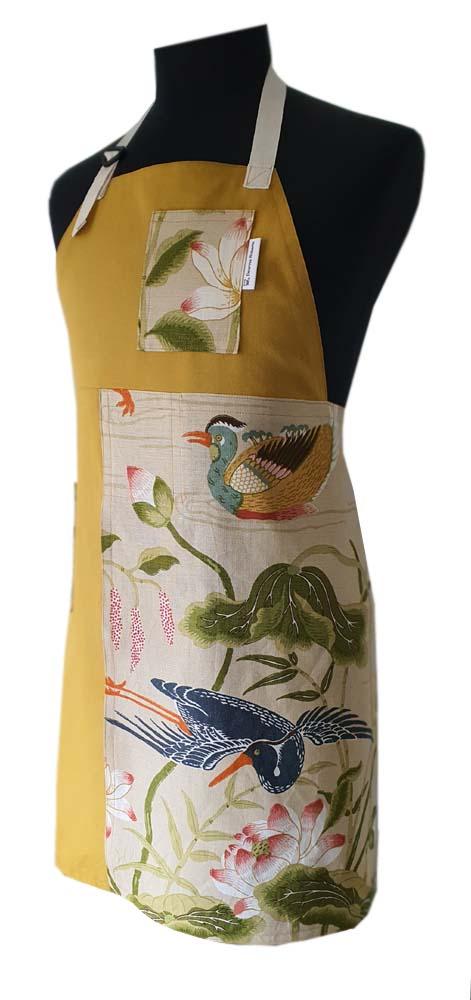 Tranquility Split-leg apron (74 x 84) Deanna Roberts Studio